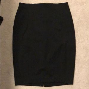 Black pencil skirt from express